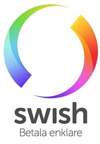 Swish är också vanligt idag